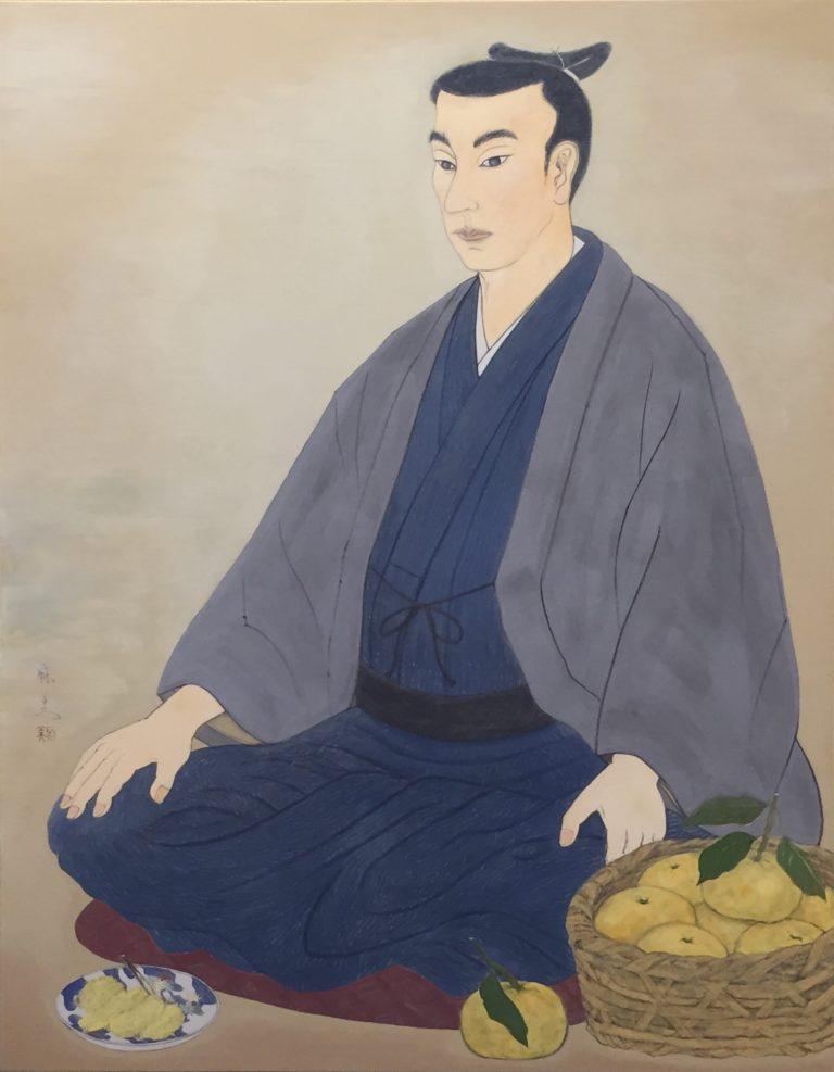 松陰先生と夏橙 - Shoin sensei to natsudaidai