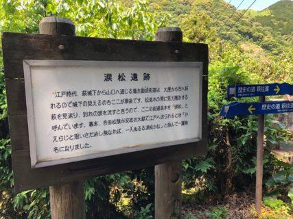 松陰先生と涙松 吉田松陰歿後160年記念「松陰先生大集合」に行って参りました