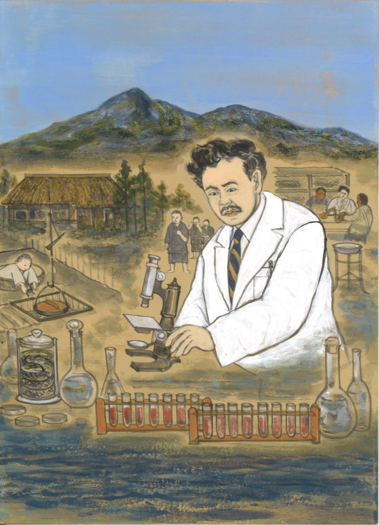 野口英世 病原菌の研究に生涯を捧げる
